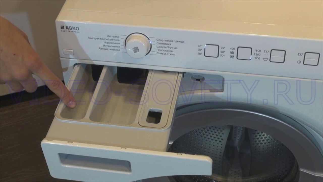 ASKO W 6554 - подробная инструкция на стиральную машину
