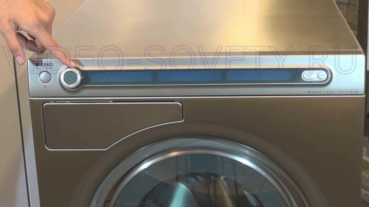 Asko W6984 S - полная инструкция к стиральной машине.
