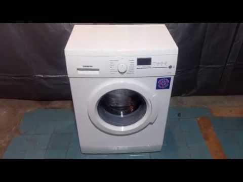 Узкая стиральная машина Siemens X12-44, 4,5 кг, 44 см