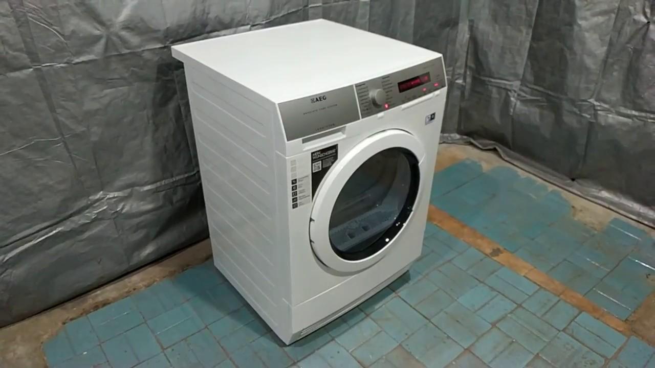 Сушильная машина с тепловым насосом AEG ProtexPlus 8kg