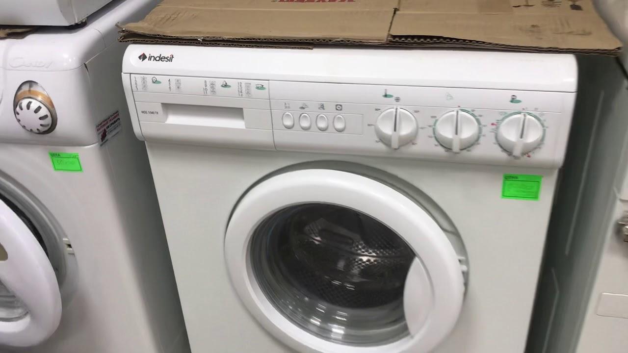 Стиральная машина Indesit WDS 1040 TXR Обзор