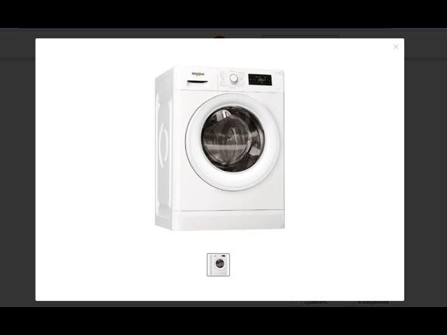 Онлайн обзор. Стиральная машина Whirlpool FWSG71053WV RU