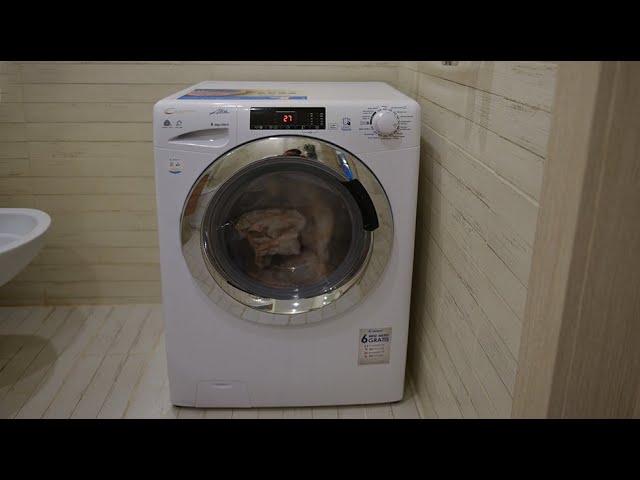 Candy GrandO Vita Smart GVSW 385TC5-07 - вместительная стиральная машина с сушилкой