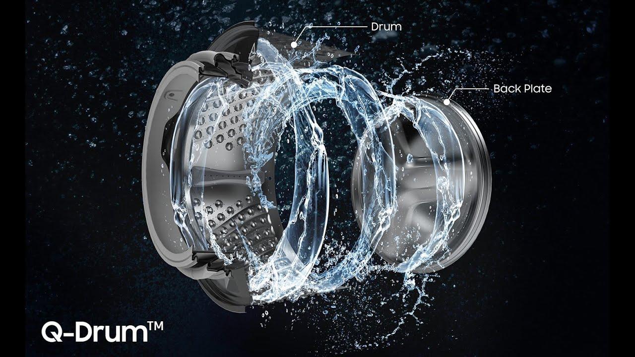 Обзор стиральной машины Samsung WW90M74 и сушки DV90N8289