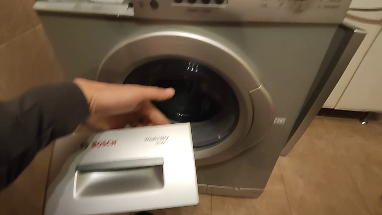 Bosch не сушит , выключается сушка стиральной машине WVD 2446 AOE05