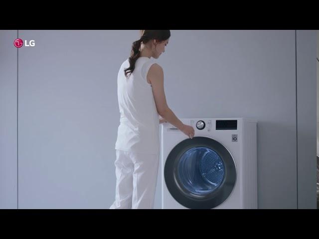 Сушильная машина LG DUAL Inverter Heat Pump. Деликатный уход за тканями