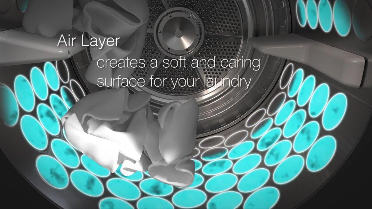 Барабан Soft Drum™ из нержавеющей стали в сушильных машинах Asko