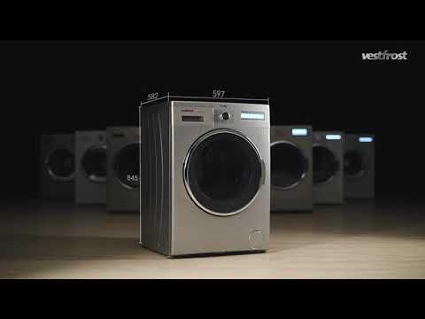 Видеообзор стиральной машины с сушкой Vestfrost VFWD 1460 S