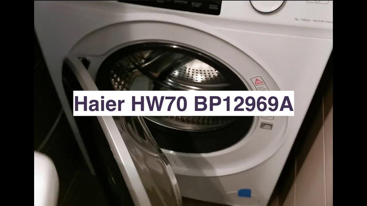 Стиральная машина Haier HW70 BP12969A - отзывпервое впечатлениетест шума