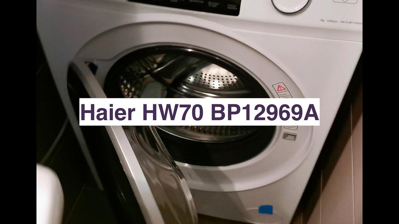 Стиральная машина Haier HW70 BP12969A - отзывпервое впечатление