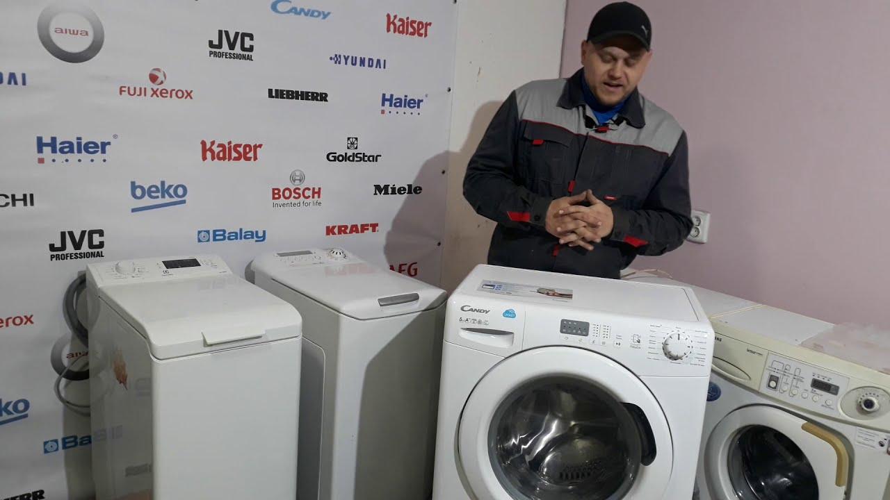 Обзор стиральной машины Канди   Candy честный отзыв