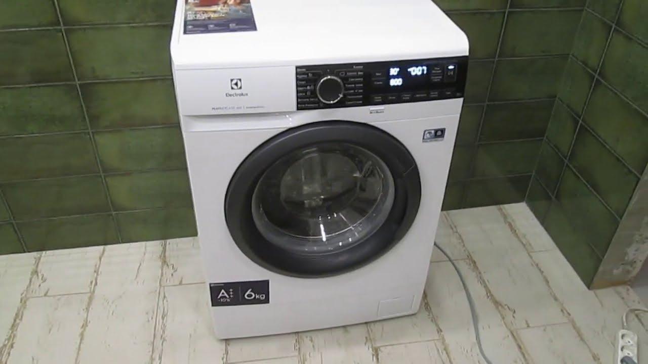Обзор и установка стиральной машины ELECTROLUX EW6S2R26SI