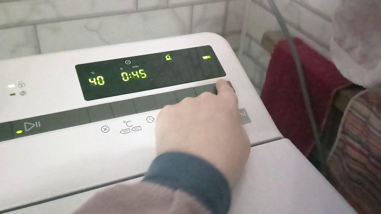 Обзор стиральная машина Whirlpool TDLR 65230 ZEN