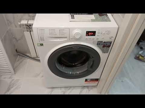 Обзор стиральной машины Hotpoint Ariston VMSG521 5,5kg