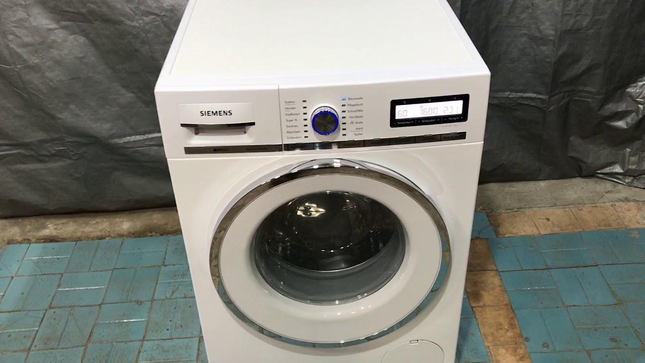 Стиральная машина Siemens IQ890