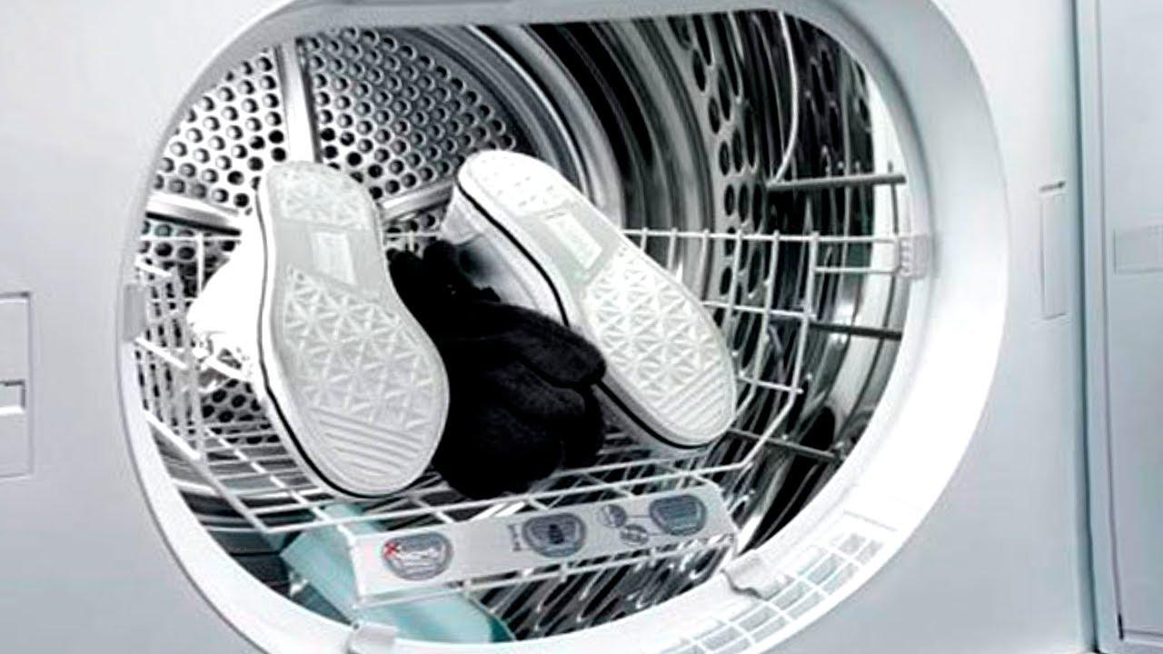 Можно ли сушить кроссовки в сушильной машине