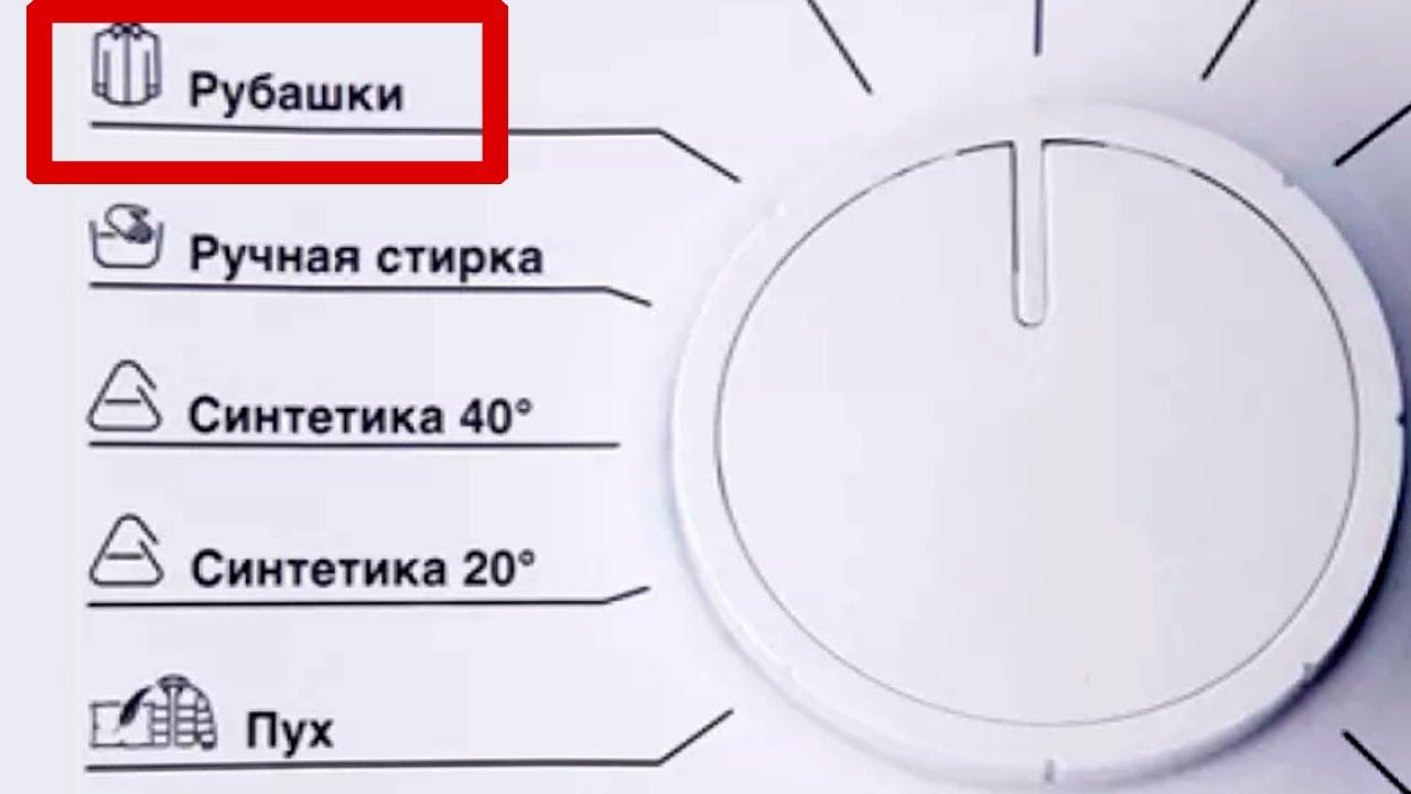 """Режим """"Рубашки"""" в стиральной машине Beko. Описание и как им пользоваться"""