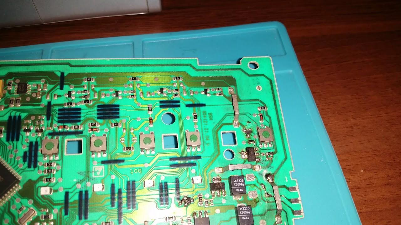 Модуль управления стиральной машины Bosch maxx 4 old 4k