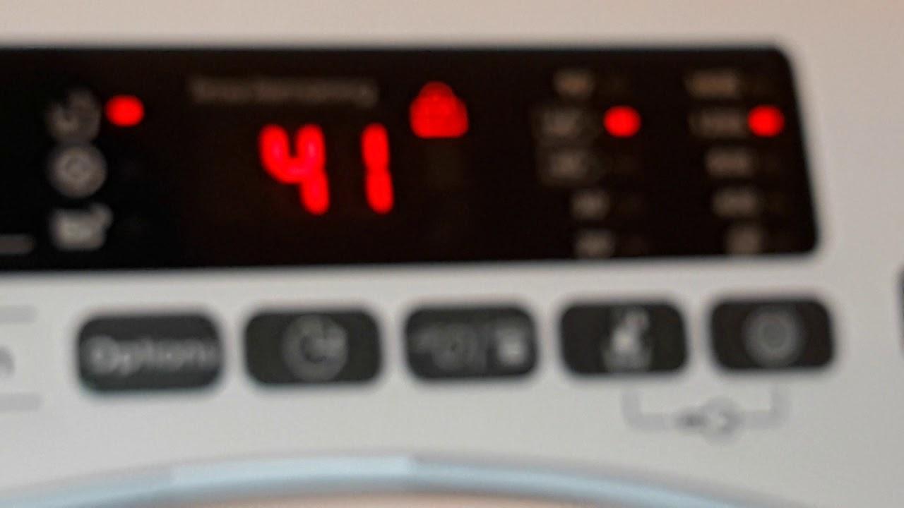 Candy Washing Machine - Pre Wash