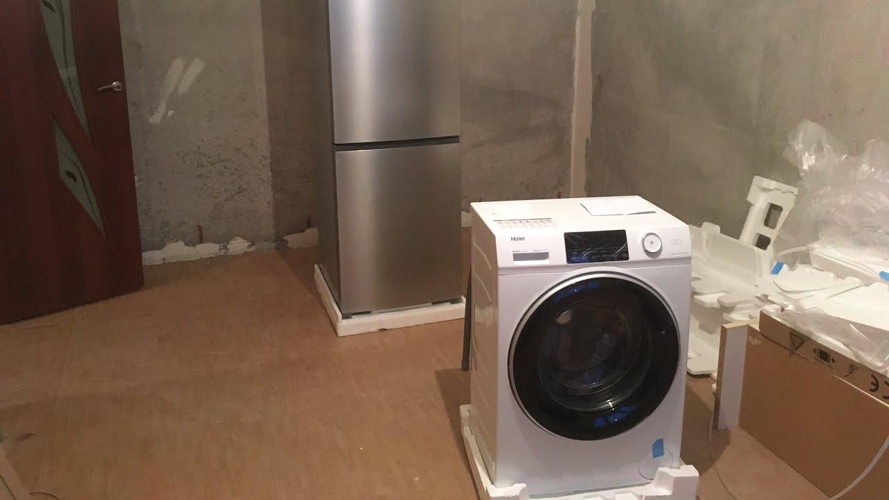 Подключение стиральной машинки Haierbum_garage.