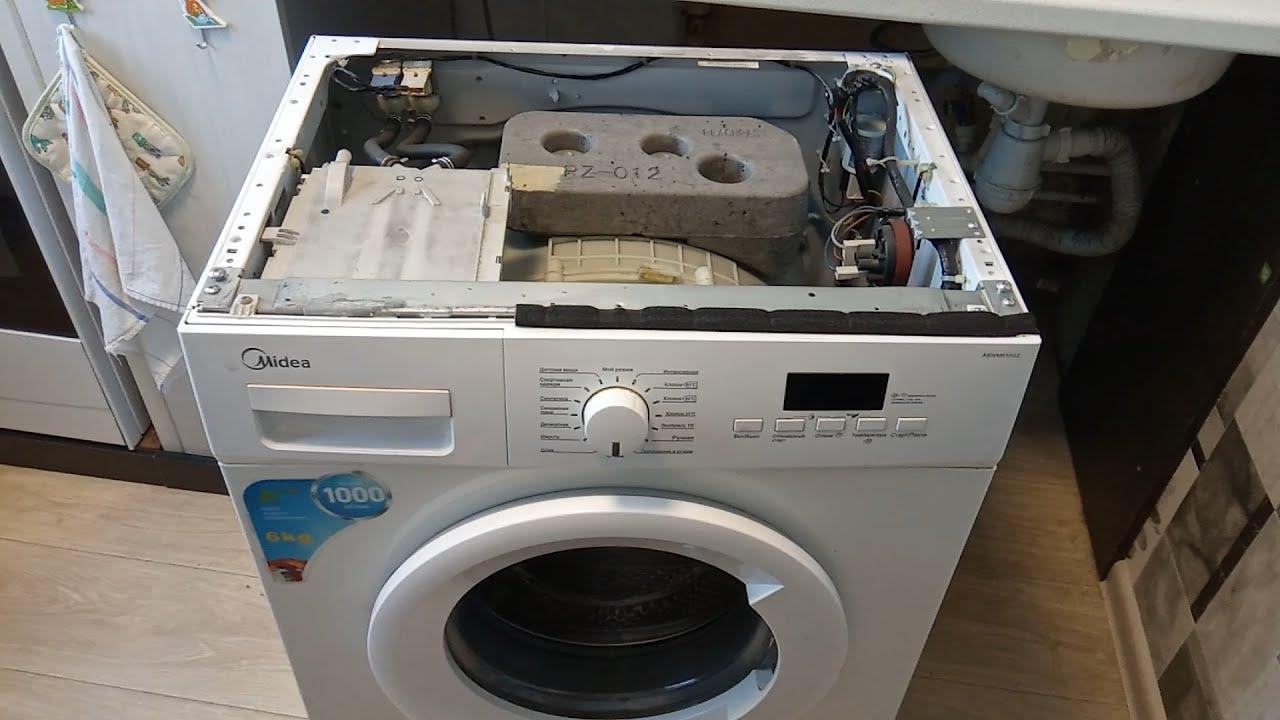 Обзор стиральной машины Midea ABWM610G2 6кг