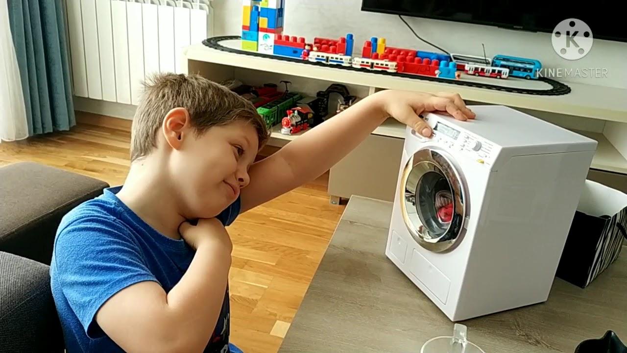 Обзор детской стиральной машины Miele.
