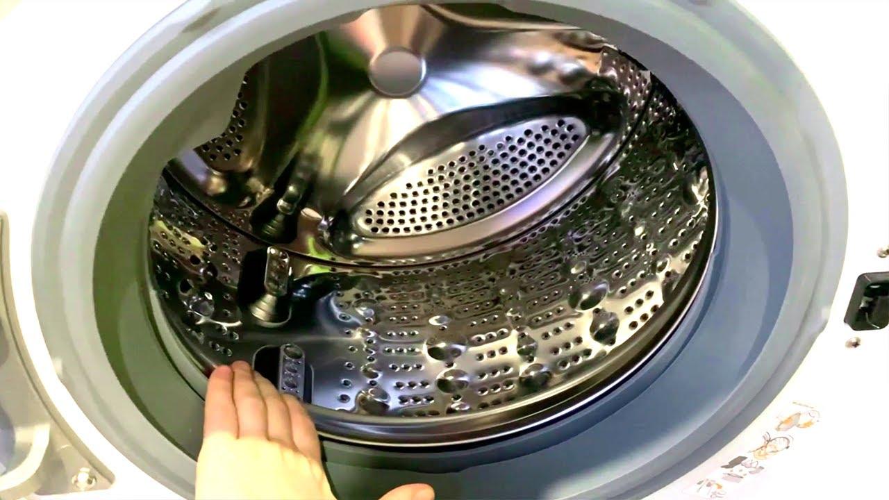 Самоочистка стиральной машины. Как включить?