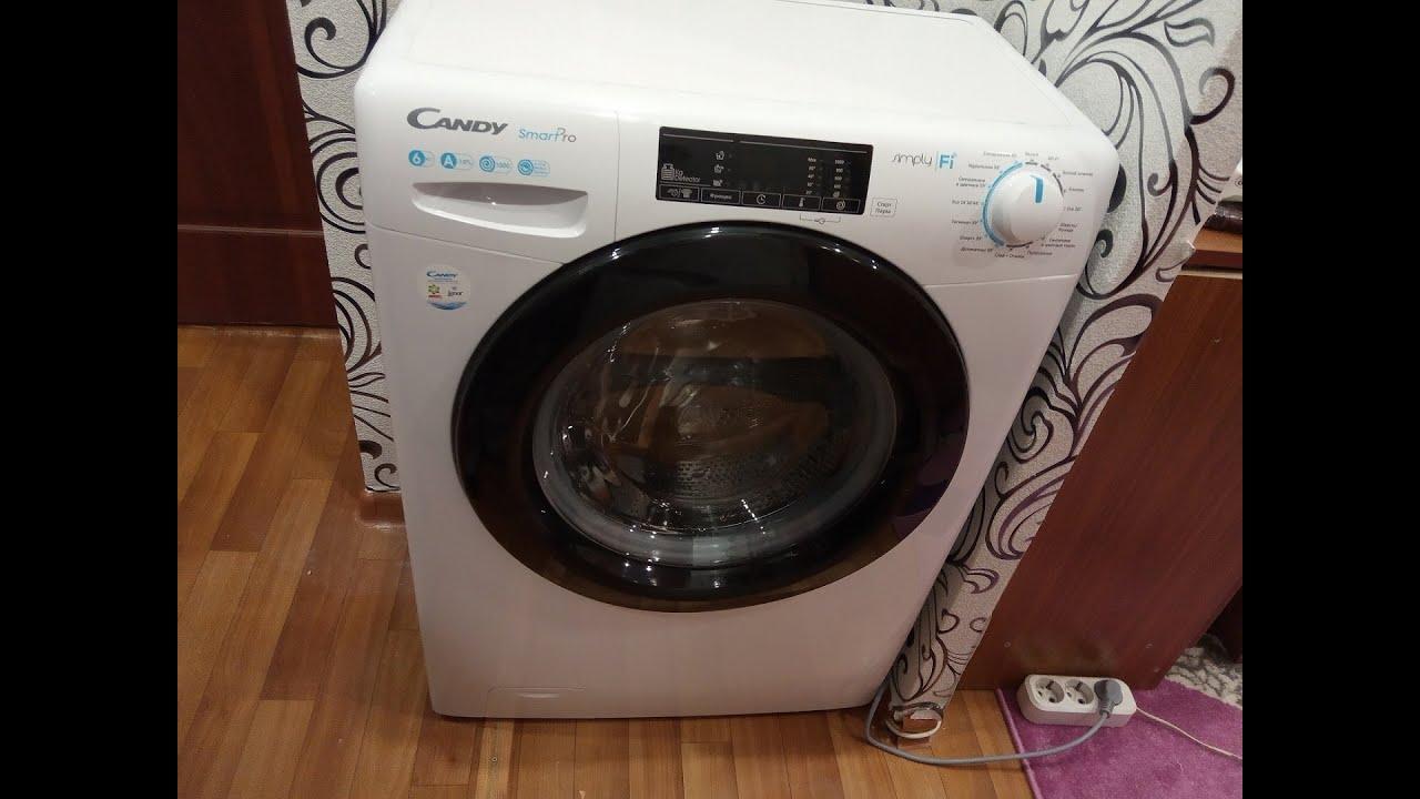 Мини-обзор стиральной машины Candy Smart Pro CO34 106TB12-07