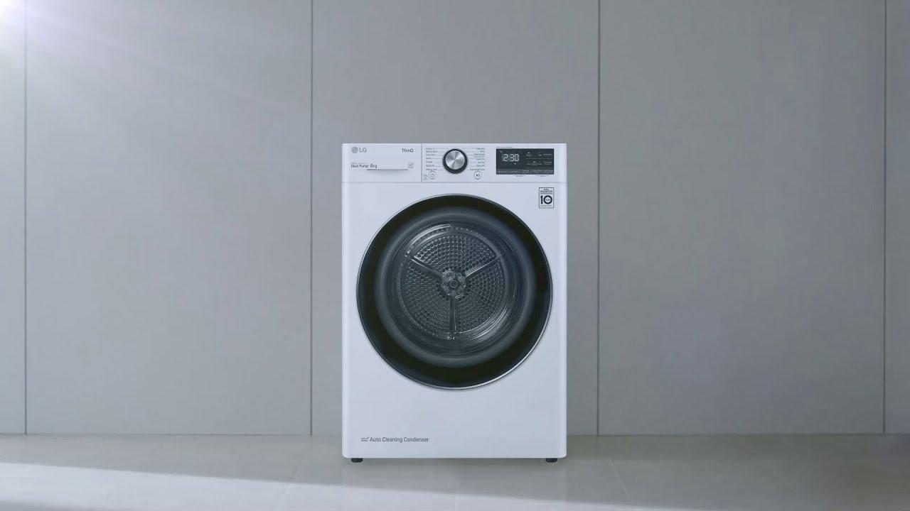Сушильная машина LG с новой технологией теперь в Казахстане