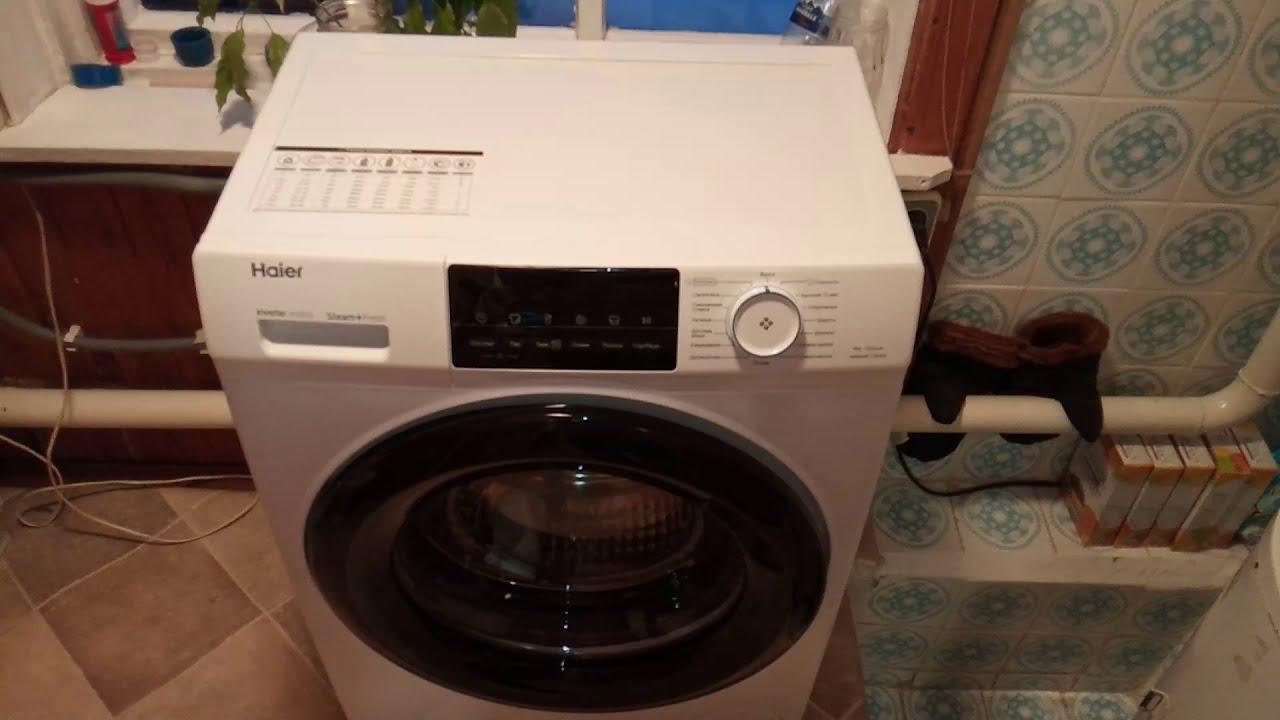 Мини-обзор стиральной машины Haier HW60-BP12929A 6kg