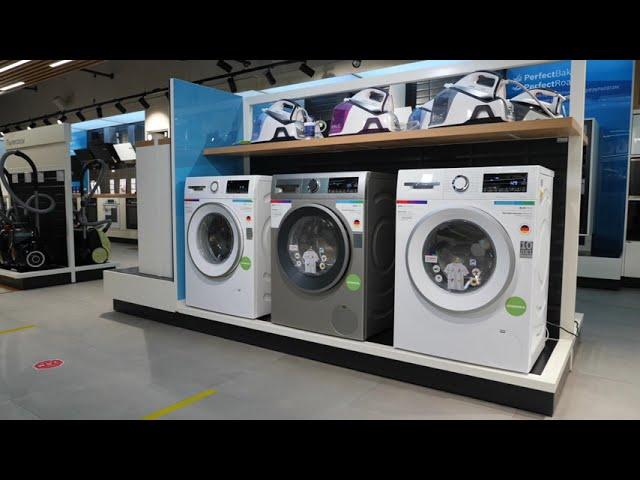 Узкие стиральные машины Bosch PerfectCare