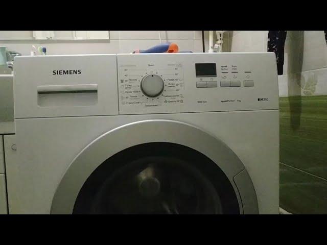 Разбор стиральной машины Siemens IQ300. Снятие панели и устранение течи.