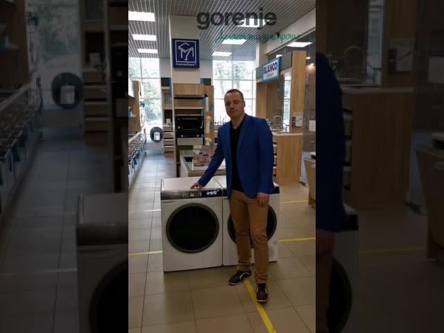 Обзор стиральной машины Gorenje WS168LNST